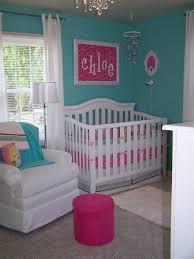 chambre bébé turquoise design interieur chambre fille bébé turquoise crèche blanche