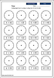 collections of printable clock worksheet bridal catalog