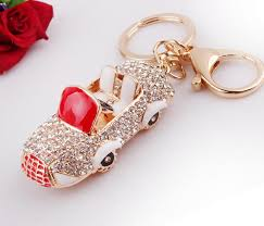key rings designs images 3d car bling fake diamond keychain keyring key ring fashion jpg