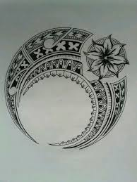 Polynesian Flower Tattoo - 37 best samoan art images on pinterest polynesian art samoan