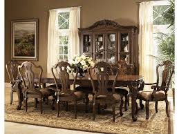 9 Pc Dining Room Set by Fairmont Designs Rochelle 9 Piece Dining Table And Chair Set