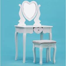 Turquoise Vanity Table Makeup Vanity Table Set Wayfair Ca