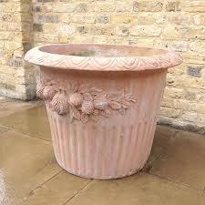 large garden terracotta pots home design