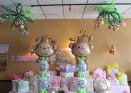 monkey decorations for baby shower baby shower ideas with monkey theme dtavares