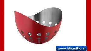 Kitchen Utensil Design by Designer Steel Kitchenware For Diwali Gifting Exporters
