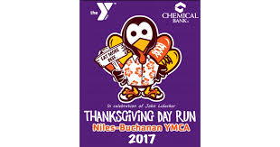 thanksgiving day run niles buchanan ymca
