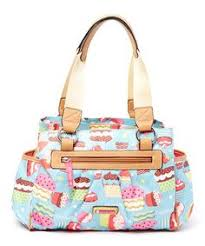 bloom purses take a look at this brown floral tote on zulily today i
