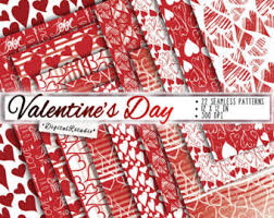 commercial wrapping paper valentines day wrapping paper etsy