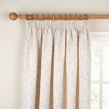 Pencil Pleat Curtains Buy Lewis Leaf Trail Lined Pencil Pleat Curtains