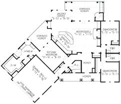 Floor Plan With Garage by House Plans Rear Garage Lovely 16 Floor In Addition Ranch With