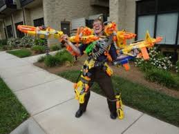 nerf car gun check out this video of world u0027s largest nerf gun fires darts at