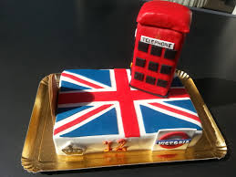 deco chambre london fille gateau union jack theme londres aacook