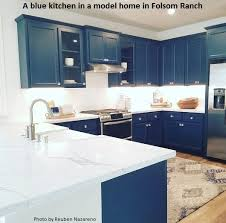 are blue cabinets trendy is a blue kitchen all the rage or much