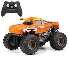 rc monster jam trucks amazon com new bright f f monster jam el toro loco rc car 1 15