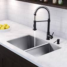 Kitchen Sink Set by All In One 29 Inch Stainless Steel Undermount Kitchen Sink And