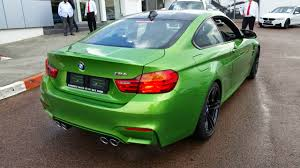 bmw cars south africa java green bmw m4 touches in south africa