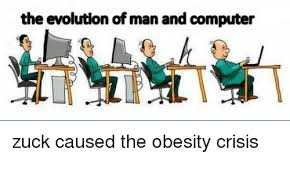 Man On Computer Meme - the evolution of man and computer computer meme on me me