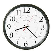 wall clocks daylight savings 14 quartz wall clocks white dial 625323 alton