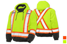 work king 3 in 1 safety bomber jacket