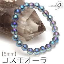 power beads bracelet images Over9 premium aurora crystal aqua aura natural stones bracelet jpg