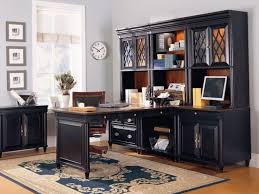 Black Home Office Desks Office Gorgeous Black Home Office Furniture Ideas With