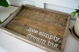 Build Large Coffee Table by Diy Cardboard Tray All Put Together Large Serving Trays For Coffee