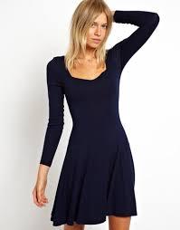 junior long sleeves dress