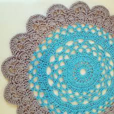 Easy Crochet Oval Rug Pattern 85 Best Crochet Rugs Images On Pinterest Tricot Crochet Crochet