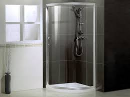 bathroom luxurious open shower stall for bathroom design with