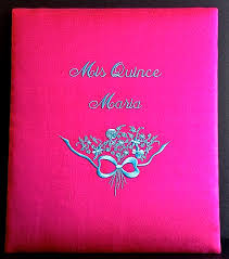 Quinceanera Photo Albums Simple Elegance Inc Custom Wedding Monogram