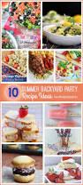 Summer Entertaining Menu Ideas The 25 Best Backyard Party Foods Ideas On Pinterest Summer