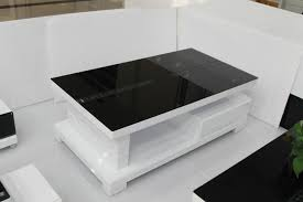 Coffee Tables Black Glass Modern Minimalist Glass Coffee Table Storage Coffee Table Small