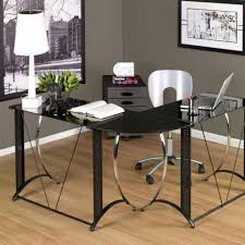 modern glass office furniture contemporary glass desks for home