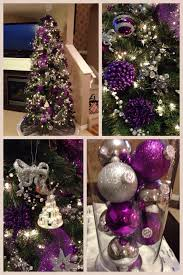 purple and silver christmas christmas pinterest silver