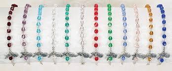 birthstone rosary birthstone