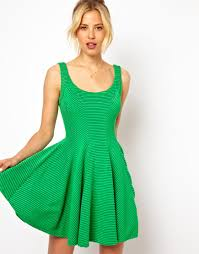 green skater dress oasis amor fashion