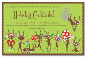 Games For Cocktail Parties - reindeer games holiday invitations christmas party invitations 18295