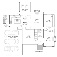 yourplans floor plan visuals real estate virtual tours plan view of the main floor