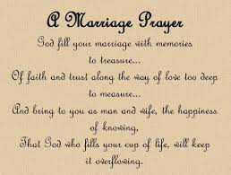 marriage prayers for couples marriage prayer frames