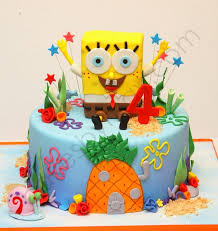sonic cake topper spongebob cakes decoration ideas birthday cakes