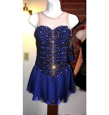 del arbour d77b z60 beaded skating dress 6 colors for figure