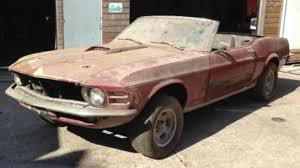 classic ford cars a 1970 awd ford mustang convertible is the latest incredible barn