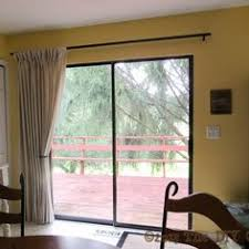 Slider Door Curtains Easy Home Update Replace Those Sliding Blinds With A