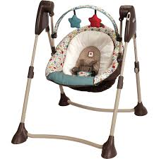 Graco Baby Swing Chair Graco Swing By Me Portable Baby Swing Twister Walmart Com