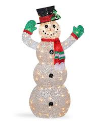 look at this zulilyfind light up indoor outdoor crystal snowman