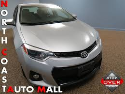 2014 used toyota corolla 4dr sedan cvt s plus at north coast auto