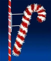 Outdoor Christmas Decorations Candy Canes by Outdoor Christmas Decorations 6 U0027 X 4 U0027 Deluxe Candy Cane Pole