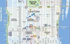 Midtown Manhattan Map 2015 Hotels U0026 Travel Aha