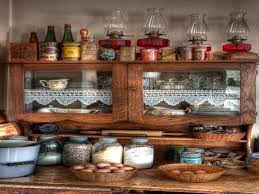 apothecary jars kitchen kitchen farmhouse with wood cabinets