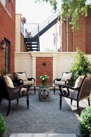 architecture wall fountains in traditional patio with brick wall